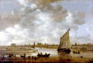 Jan-van-Goyen-Gezicht-op-Leiden-uit-het-Noordoosten-i10837